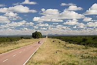 RUTA NACIONAL 152 HACIA LIHUE CALEL (AL FONDO), PROV. DE LA PAMPA, ARGENTINA