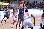 Aaron Craft<br /> Dolomiti Energia Aquila Basket Trento - Consultinvest Victoria Libertas Pesaro<br /> Lega Basket Serie A 2016/2017<br /> Trento, 26/03/2017<br /> Foto Ciamillo - Castoria