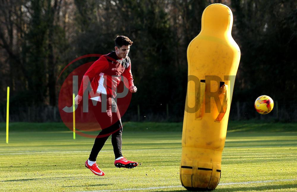 Callum O'Dowda of Bristol City takes part in training - Mandatory by-line: Robbie Stephenson/JMP - 19/01/2017 - FOOTBALL - Bristol City Training Ground - Bristol, England - Bristol City Training