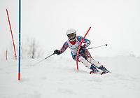 Lafoley spring slalom with Gunstock Ski Club.  ©2018 Karen Bobotas Photographer