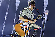 Photos of the band Grizzly Bear performing live at Radio City Music Hall, NYC. September 24, 2012. Copyright © 2012 Matthew Eisman. All Rights Reserved.