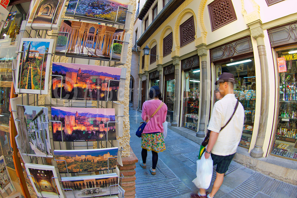Alberto Carrera, Souvenir's Shop, Street Market, Granada, Andalucía, Spain, Europe