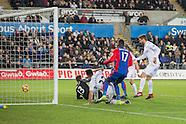 261116 Swansea city v Crystal Palace