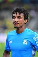 Luiz Gustavo Dias of Marseille  after the Ligue 1 match between FC Nantes and Olympique Marseille at Stade de la Beaujoire on August 12, 2017 in Nantes, . (Photo by Dave Winter/Icon Sport)