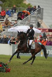Kayser, Julia, Sterrehof´s Cayetano Z<br /> München - Pferd International 2013<br /> Stechen Gruppenspringen<br /> © www.sportfotos-lafrentz.de/Stefan Lafrentz