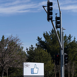 Facebook Sign, 1601 Willow Road, Menlo Park, CA 94025