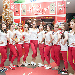Miss Scotland's visit Hamleys