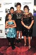 November 2, 2012- New York, NY: (L-R)Actress Quvenzhane Wallis (Honoree), Gale V. King, EVP, Nationwide, Desiree Rogers, CEO, Johnson Publishing Company and Linda Johnson Rice, Chair, Johnson Publishing Company at the Ebony Power 100 Gala Presented by Nationwide held at Jazz at Lincoln Center on November 2, 2012 in New York City. The EBONY Power 100 Gala Presented by Nationwide salutes the country's most influential African Americans.(Terrence Jennings)