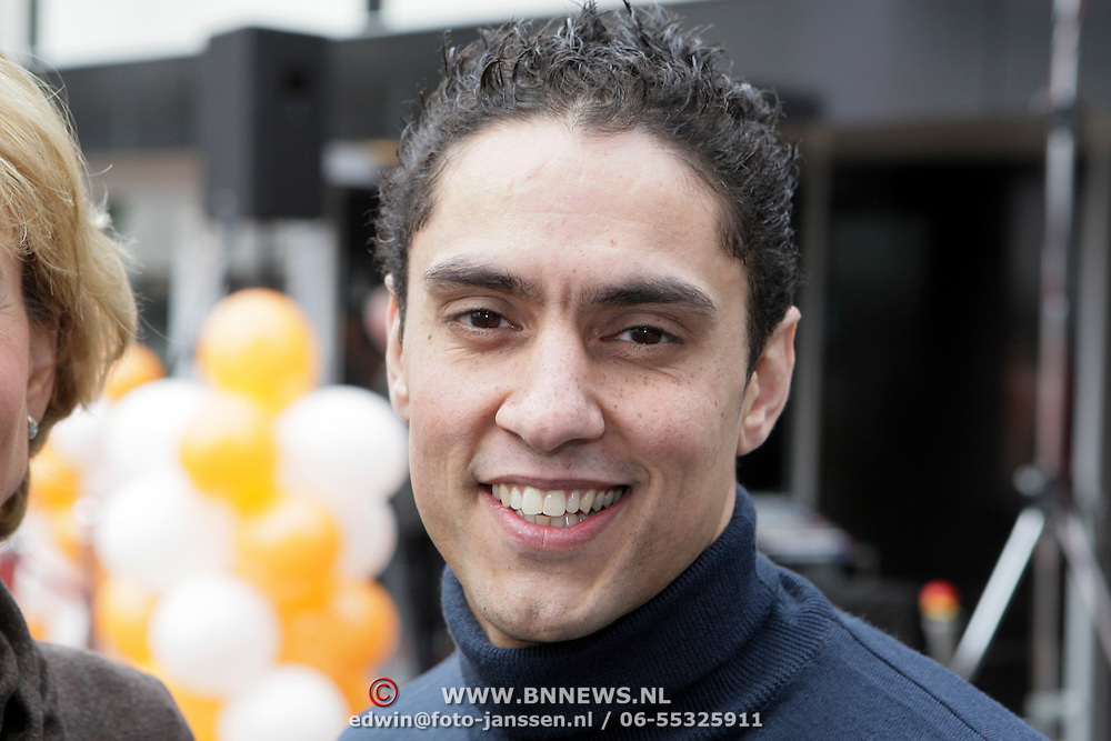 NLD/Hilversum/20080327 - Start ledenwerf actie omroep Max, Duco Bauwens