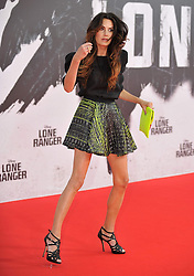The Lone Ranger Berlin film premiere.<br /> Elizabeth Chambers attends premiere of latest adaptation of well-known Spaghetti Western. <br /> Berlin, Germany<br /> Friday 19 July 2013<br /> Picture by Schneider-Press / John Farr / i-Images<br /> UK & USA ONLY