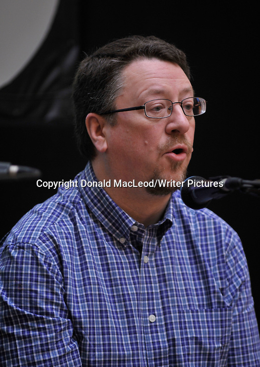 """Glasgow Aye Write! Festival - Ronnie Scott who used his Aye Write! Authors Event to discuss editing """"Tommy's Peace"""" (sequel to Tommy's War) which recorded the post-First World War experiences in Glasgow of Thomas Cairns Livingstone."""