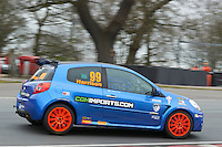 #99 Nic HARRISON CGHImports.com with Jade Developments during Michelin Clio Cup Series as part of the BARC NW - Championship Raceday  at Oulton Park, Little Budworth, Cheshire, United Kingdom. March 19 2016. World Copyright Peter Taylor/PSP. Copy of publication required for printed pictures.  Every used picture is fee-liable. http://archive.petertaylor-photographic.co.uk