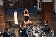 IWONA BLAZWICK, OBE,  Whitechapel Gallery Art Icon Gala, supported by the Swarovski Foundation, Honoring the lifetime achievement of Joan Jonas. Christ Church Spitafields. London.