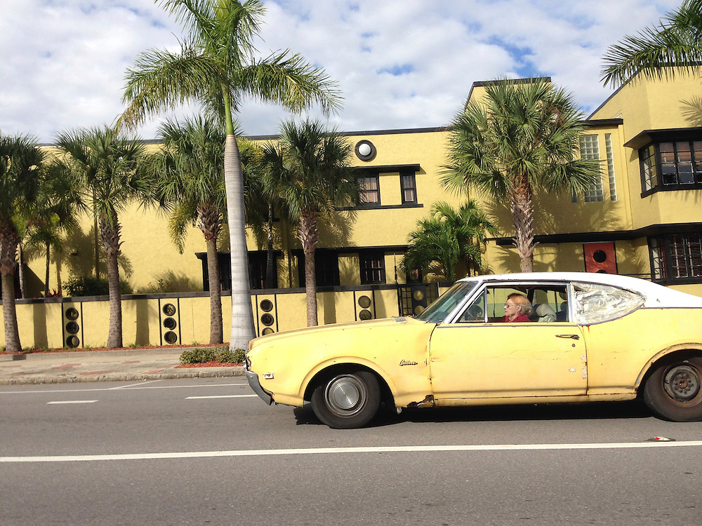 Yellow Oldsmobile, St. Petersburg