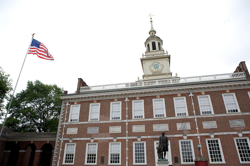 UNITED STATES-PHILADELPHIA-Independence Hall. COPYRIGHT GERRIT DE HEUS