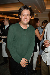 ADAM WEYMOUTH at a the Fortnum's X Frank private view - an instore exhibition of over 60 works from Frank Cohen's collection at Fortnum & Mason, 181 Piccadilly, London on 12th September 2016.
