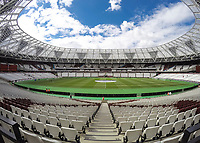 Football - 2016 / 2017 Premier League - West Ham United vs. AFC Bournemouth<br /> <br /> The new home of West Ham United awaits the fans and teams as kick off approaches at The London Stadium.<br /> <br /> COLORSPORT/DANIEL BEARHAM