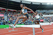 Beatrice  Chepkoech  (KEN) places second in the women's steeplechase in  9:04.30 during the 54th  Bislett Games in an IAAF Diamond League meet in Oslo, Norway, Thursday, June 13, 2019. (Jiro Mochizuki/Image of Sport)