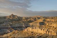 Badlands at Angel Peak Scenic Area, New Mexico