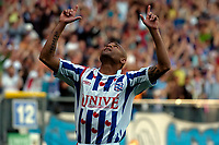 Fotball<br /> Nederland<br /> Foto: ProShots/Digitalsport<br /> NORWAY ONLY<br /> <br /> sc heerenveen - feyenoord 29-04-2007 eredivisie seizoen 2006-2007 afonso alves na zijn tweede treffer