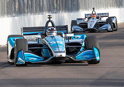 March 10, 2019 - St. Petersburg, FL, U.S. - ST. PETERSBURG, FL - MARCH 10: Carlin driver Max Chilton (59) of Great Britainduring the IndyCar Series - Firestone Grand Prix Race on March 10 in St. Petersburg, FL. (Photo by Andrew Bershaw/Icon Sportswire) (Credit Image: © Andrew Bershaw/Icon SMI via ZUMA Press)