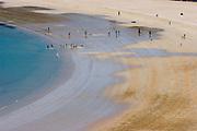 Hallyeo Marine National Park. Beach on Namhae Island.