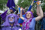 The D-Day Demo (18th June 2004), the Day of the Dad saw around 4000 members of Fathers for Justice dressed in purple (the international colour of equality) march through the streets of London.