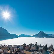 Winter in Lugano