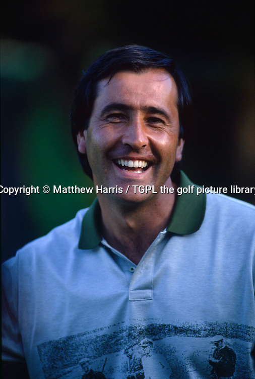 Seve BALLESTEROS (EPN) all smiles in one of his favourite countries during fourth round Dunlop Phoniex Tournament 1989,Miyazaki,Japan.