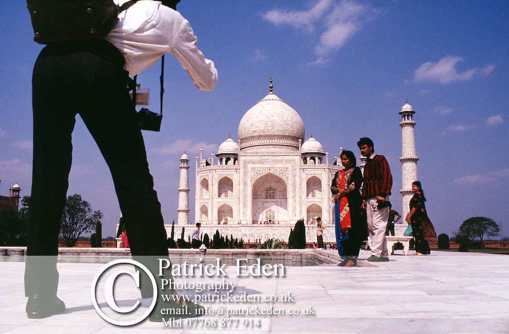 Official Photographer, Taj Mahal Agra India India © Patrick Eden