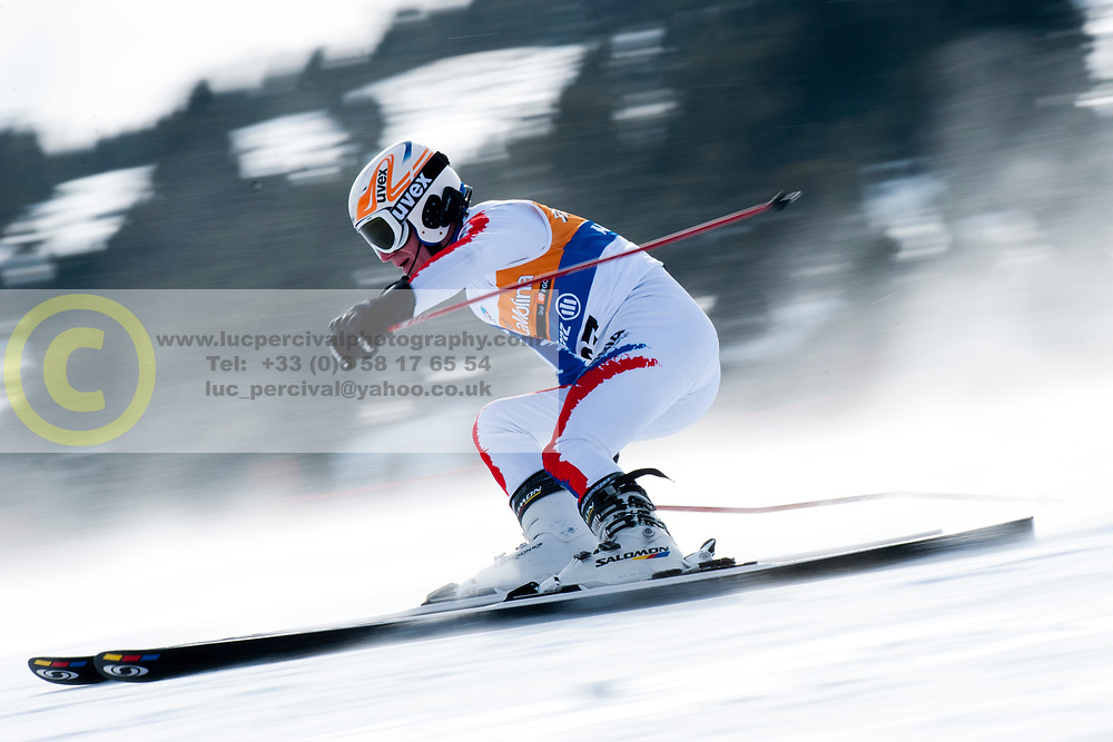FRANTSEV Ivan, RUS, Super Combined, 2013 IPC Alpine Skiing World Championships, La Molina, Spain