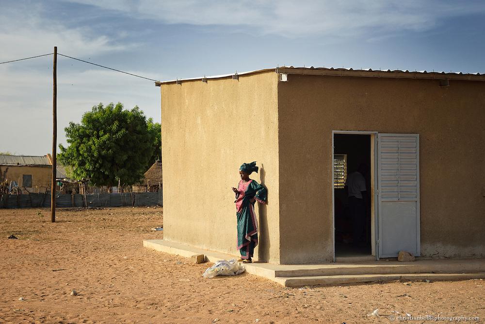 Ausbildungs-Workshop für Kleinbauern (Impfung von Nutztieren, Theorie & Praxis) in THIARGNY, Senegal.