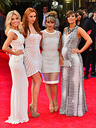The Saturdays during The Hangover Part III, European film premiere.  Stars attend premiere of third outing for the 'wolfpack', which this time will stray from the format of the first two films. Empire Leicester Square, London, United Kingdom, May 22, 2013. Photo by Nils Jorgensen / i-Images...