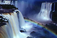 Iguazu Falls on the Brazil Argentina border