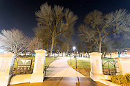 Washington Park at night. Cincinnati, Ohio