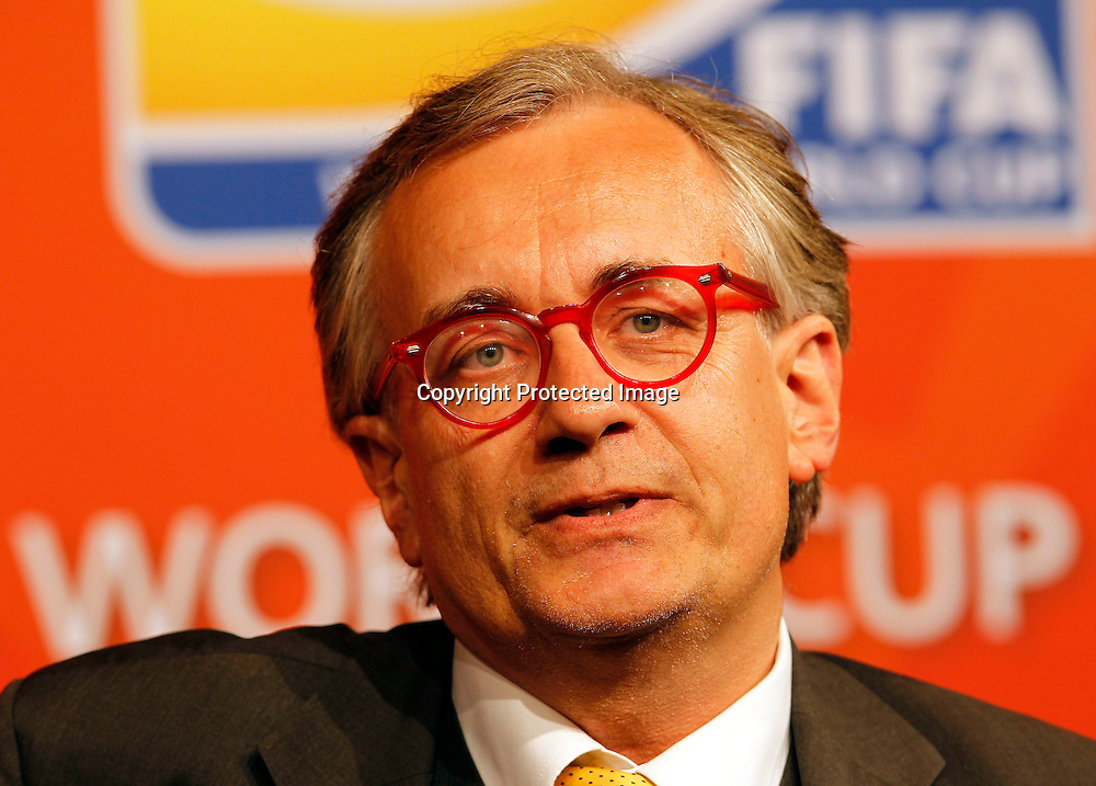 Ambassador for Germany (NZ) Thomas Herrmann Meister. FIFA Women's World Cup 2011 Official Countdown, Crowne Plaza Hotel, Auckland, Friday 10th December 2010. Photo: Shane Wenzlick