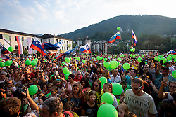 Reception of slovenian rider Primoz Roglic in Zagorje ob Savi after Tour de France 2018, on August 7, 2018 in Zagorje ob Savi, Slovenia. Photo by Urban Urbanc / Sportida