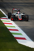 September 3, 2016: Romain Grosjean (FRA), Haas , Italian Grand Prix at Monza