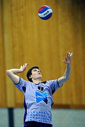 10-12-2011 VOLLEYBAL: ZAANSTAD - ABIANT LYCURGUS: ZAANSTAD<br /> Lycurgus wint vrij moeizaam met 3-2 in Zaanstad / Joe Klein <br /> &copy;2011-FotoHoogendoorn.nl