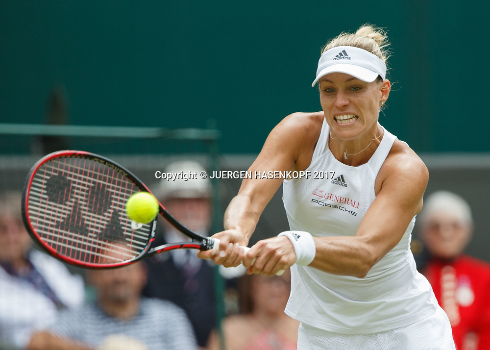 ANGELIQUE KERBER (GER)<br /> <br /> Tennis - Wimbledon 2016 - Grand Slam ITF / ATP / WTA -  AELTC - London -  - Great Britain  - 4 July 2017.