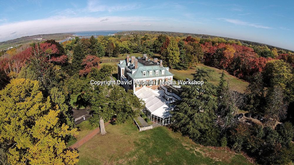 Nassau County Museum (former Frick estate) (aerial)