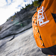 Petzl Backpack on North Baldcap