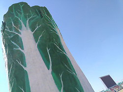March 23, 2019 - Dongyin, Dongyin, China - Dongying,CHINA-The 18-meter-tall jade cabbage can be seen in Dongying, east China's Shandong Province. (Credit Image: © SIPA Asia via ZUMA Wire)