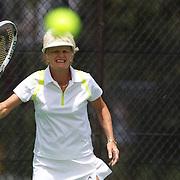 Kerry Ballard, Australia, winning the 60 Womens Singles Final during the 2009 ITF Super-Seniors World Team and Individual Championships at Perth, Western Australia, between 2-15th November, 2009