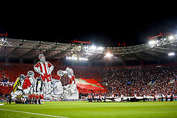 September 12, 2017 - Piraeus, Athens, Greece - Ambient during the UEFA Champions League Group D, match between Olympiacos and Sporting CP, at Georgios Karaiskakis Stadium in Piraeus, Greece on September 12, 2017. (Credit Image: © Dpi/NurPhoto via ZUMA Press)