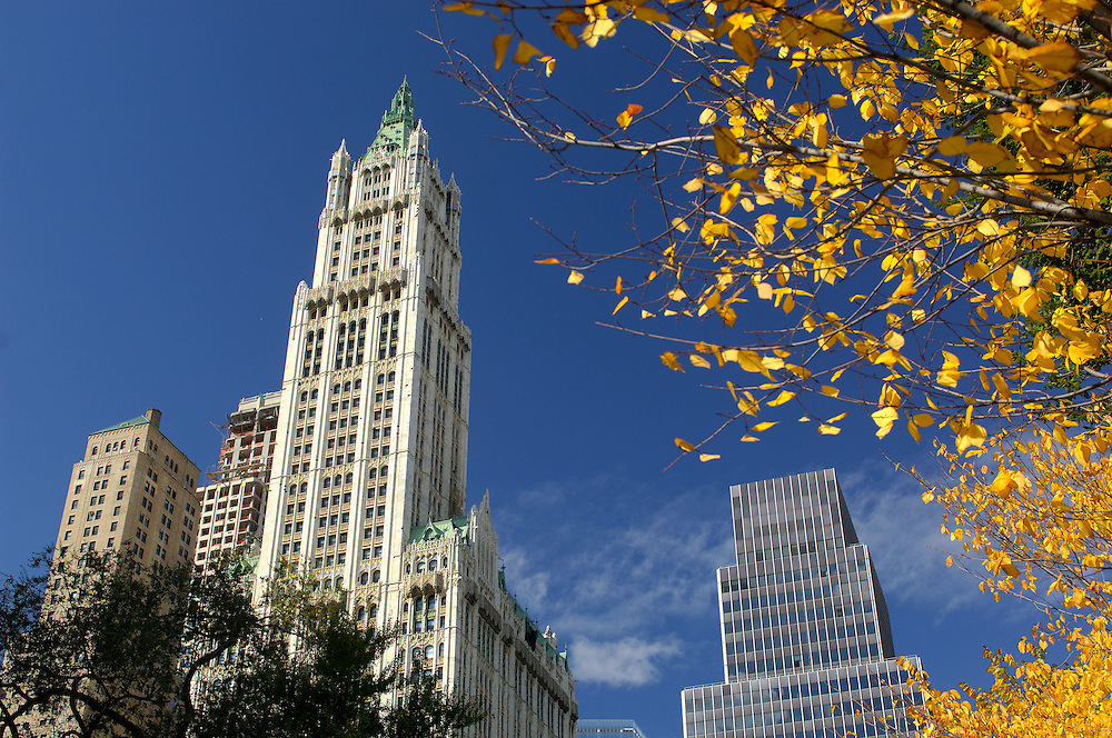 Woolworth Building, City Hall Plaza, Downtown Manhattan, New York, New York, United States of America