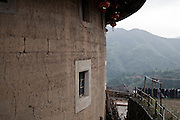 At Yabaoding, a Tulou where rural life is still predominant.
