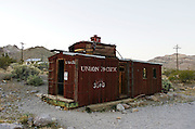 Ryolite Ghost Town, near Las Vegas Nevada, USA