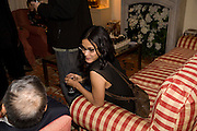 NANDANA SEN;, Faroukh Dhondy;V.S. NAIPAUL;, Aatish Taseer  book launch party for his new book Stranger To History. Travel book asks what it means to be a Muslim in the 21st century. Hosted by Gillon Aitken. Kensington, London. 30 March 2009