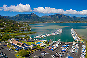 Kaneohe Yacht Club, Kaneohe Bay, Oahu, Hawaii